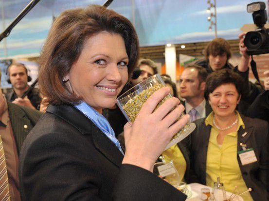 Ilse Aigner (CSU) auf der Internationalen Grünen Woche 2010 (Foto: Messe Berlin)