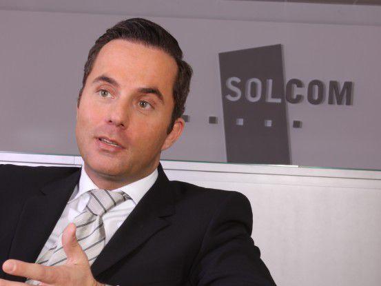 """Thomas Müller, Solcom: """"Die Nachfrage nach IT-Freiberuflern bleibt größer als das Angebot."""""""