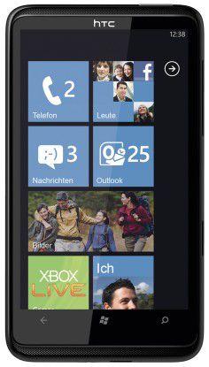 Exklusiv bei o2: Das HTC HD7