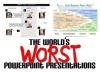 Beispiele für schlechte Powerpoint-Folien