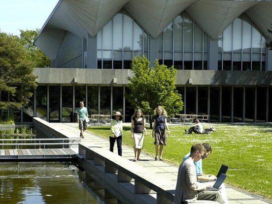 Der Campus der Technischen Universität in Kopenhagen ist für zwei Semester das Zuhause der NordSecMob-Studenten in Dänemark.
