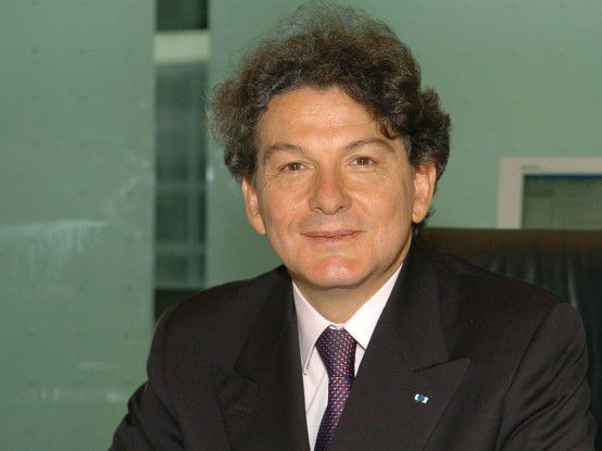 Atos-Origin-Chef Thierry Breton traut sich was.