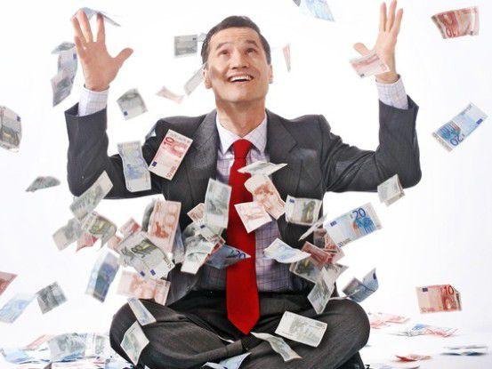 Schwimmen Freiberufler im Geld? Projektanbieter glauben ja, Freiberufler sagen nein.