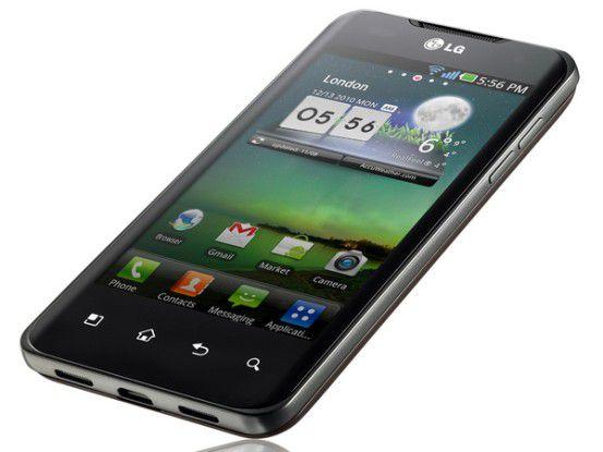 Das LG Optimus Speed kommt im März auch nach Deutschland.