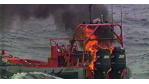Sci-Fi in der Navy: Schiffslaser schießt Schlauchboot in Brand - Foto: US Navy