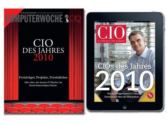 Über die Preisträger berichten wir im Print, in iPad-Ausgaben, online und via Internet-TV.