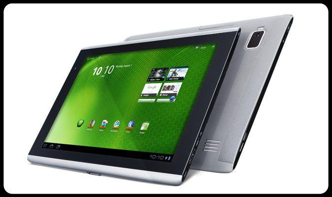 Gefälliges Tablet - das Iconia Tab A500 von Acer.