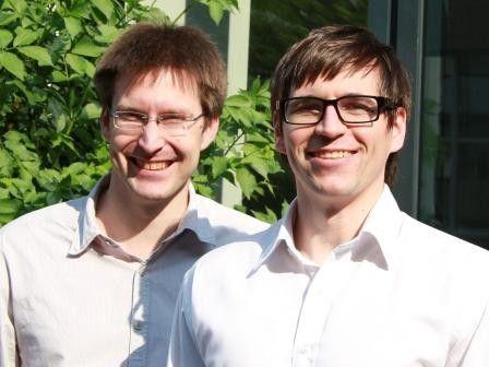 """Christian Schmitt (li.) und Dennis Mosemann (re.): """"Mit der Kombination neuer Technologien und verantwortungsvoller Produktion erschließen wir ein Marktsegment, das bisher noch gänzlich brach liegt."""""""