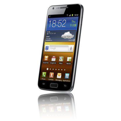 Das Galaxy S2 stellte Samsung im großen Stil auf dem Mobile World Congress 2011 vor.