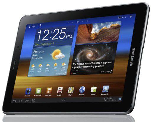 Verboten dünn, schnell und leicht: Das Samsung Galaxy Tab 7.7