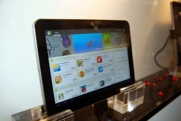 Der zweite Android-Tablet-Versuch erscheint deutlich gelungener: Toshiba AT200