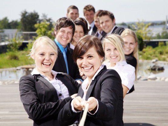 Wer glücklich ist im Job, ist produktiver und erfolgreicher.