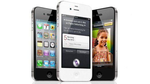 Apples iPhone 4S - Samsung versucht, dessen Import in mehreren Ländern verbieten zu lassen.
