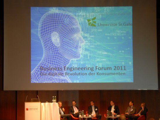 "Das Motto des Business Engineering Forum war heuer: ""Die digitale Revolution der Konsumenten."""