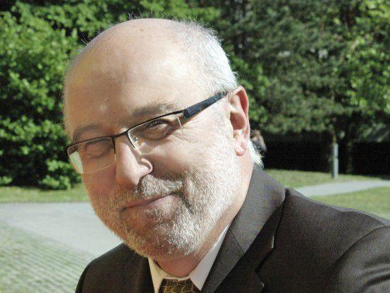Helmut Schlegel, IT-Leiter bei der Klinikum Nürnberg.