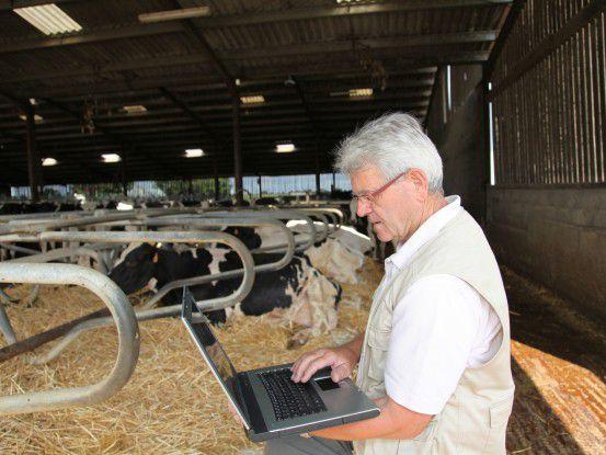Für diesen Landwirt und für die meisten anderen ist der Umgang mit dem Rechner Pflicht. Da stützt die These von Eon-CIO Edgar Aschenbrenner, der glaubt, dass alle Berufe von IT beeinflusst werden.