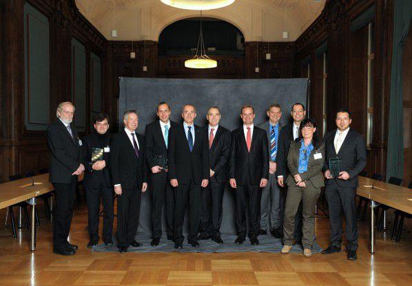 Preisträger und Jury