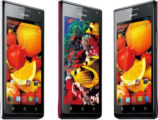 Kommt Anfang Juni: Das Huawei Ascend P1