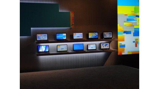 Volle Breitseite Ultrabooks von Intel - klar, Windows 8 kommt auch für ARM.