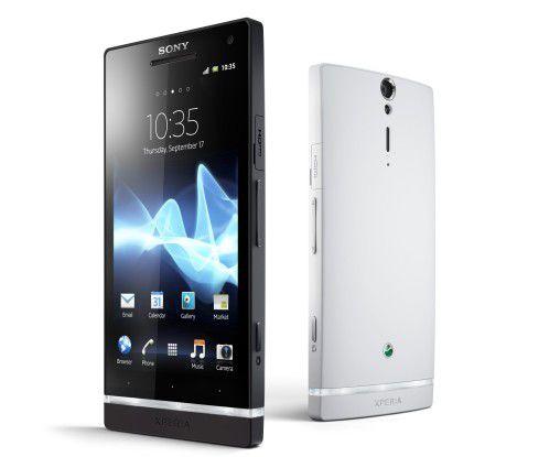 Neu im Handel erhältlich: Sony Xperia S mit Android-OS.