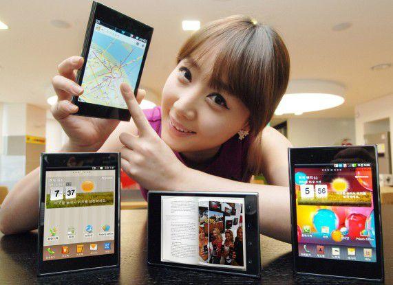 Auf Samsungs Spuren: Das LG Optimus Vu