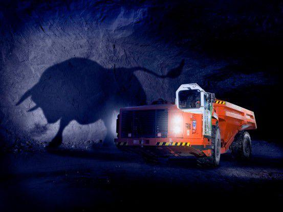 Starke Trucks sind eine der Domänen von Sandvik.