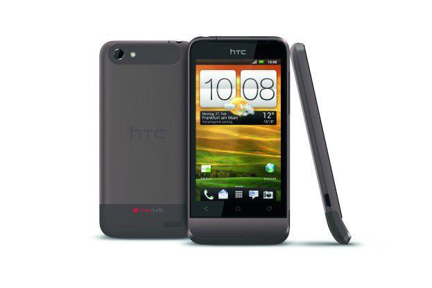Die 512 MB RAM des HTC One V reichen nicht für Android 4.1 aus.