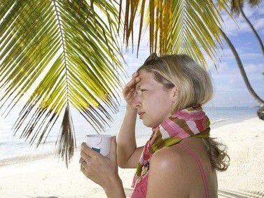 Endlich ist der langersehnte Urlaub da - aber die Grippe leider auch...
