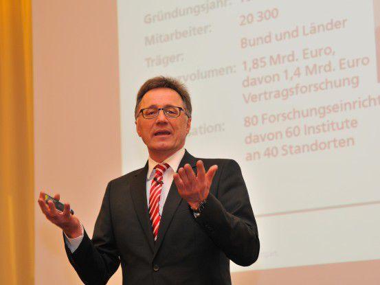 Wilhelm Bauer, Fraunhofer IAO: Arbeitsplätze müssen dem Individuum angepasst werden und nicht umgekehrt.