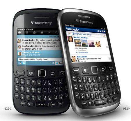 """Ein """"Blackberry Curve 9320"""" von RIM"""