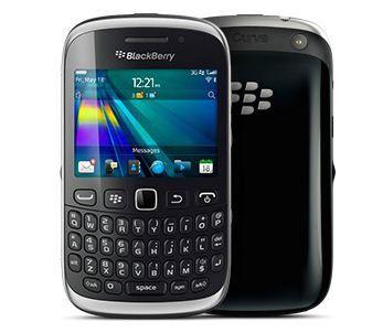 Ein aktueller Blackberry Curve 9320