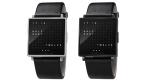 Gadget des Tages: QLOCKTWO W von Biegert & Funk - Wörtliche Zeitanzeige am Arm - Foto: Biegert & Funk
