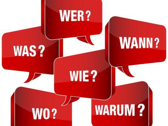 Gute Kommunikation hat immer mit Fragen stellen zu tun.