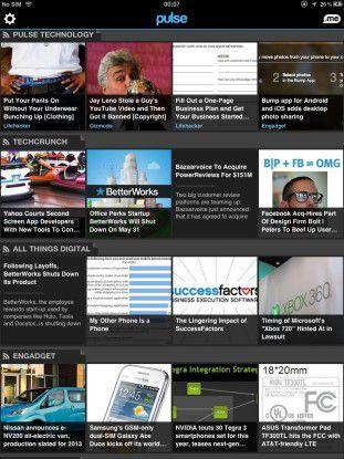Pulse News kann Flipboard in vielerlei Hinsicht das Wasser reichen.
