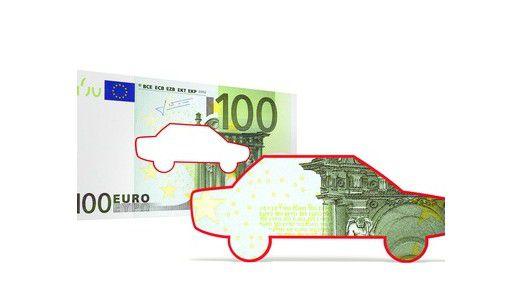 In manchen Fällen können Werbungskosten in Höhe der tatsächlichen Fahrtkosten berücksichtigt werden.