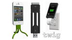Gadget des Tages: USB-Ladegerät Twig - Schluss mit dem iPhone-Kabelsalat - Foto: 3D Product