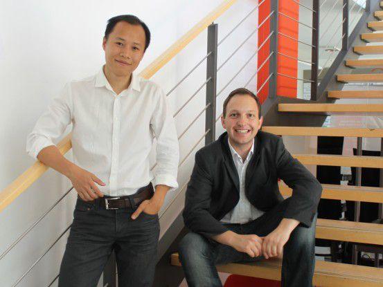 Die beiden Cleverlize-Gründer Lukas Steinbacher und Binh-An Tran, wollen E-Learning erschwinglich machen.