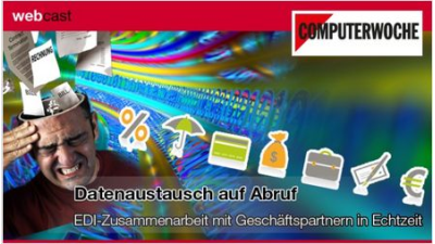 "Webcast ""Electronic Data Interchange (EDI)"": Standards im Datenaustausch"