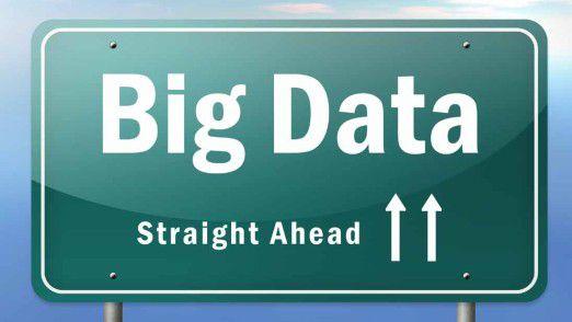 Big Data ist auf der Überholspur.
