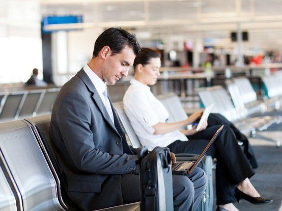 Auf den großen Flughäfen dieser Welt bleiben wöchentlich rund 12.000 Laptops liegen.