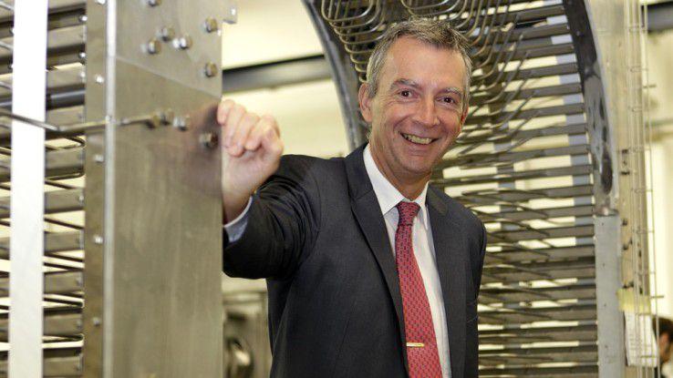 Bernd Kuntze ist mit dem Aufbau von Landesgesellschaften beschäftigt.