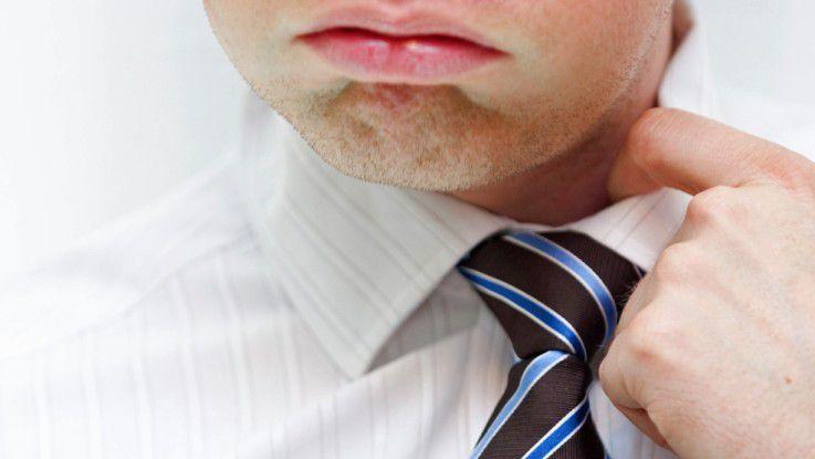 Unter Druck fühlen sich die meisten Angestellten.