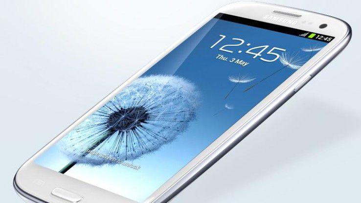 Laut Comscore sind Samsung-Geräte die am häufigsten eingesetzten Smartphones in Deutschland.