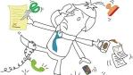 Arbeitswelt: In der Multitasking-Falle - Foto: rubysoho/Fotolia.com