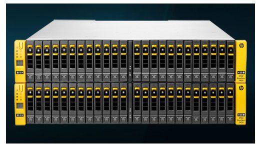 Die neuen StoreServ-Systeme von HP.
