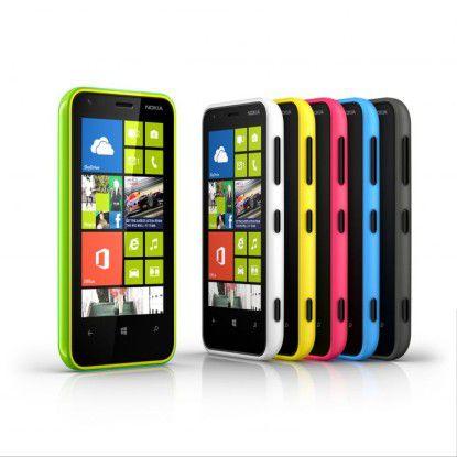 Dank Partner Nokia gibt es zahlreiche Geräte für Windows Phone.