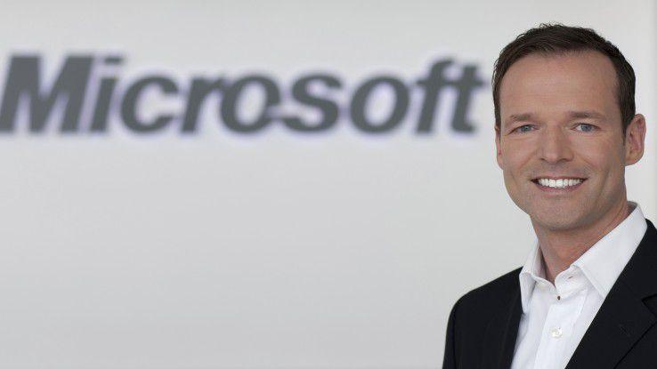 Georg Bachmaier verantwortet bei Microsoft in Deutschland das Recruiting.