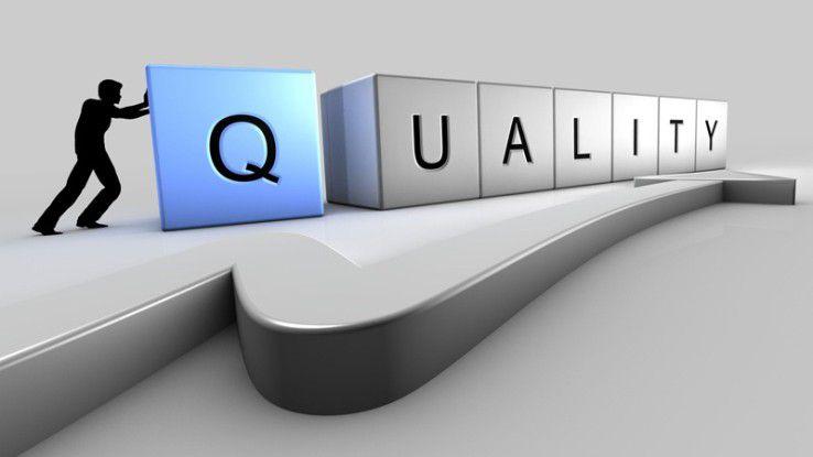 Qualitätssicherung beim Software-Rollout.