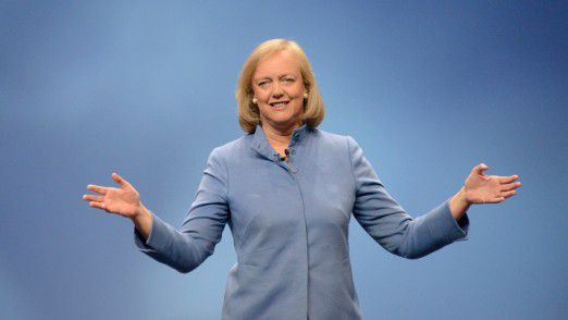 HP-Chefin Meg Whitman hat mehrfach betont, dass sie den Konzern ganz lassen möchte.