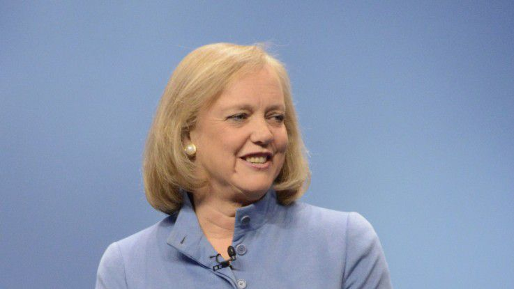 Meg Whitman, Chief Executive Officer von Hewlett-Packard (HP)